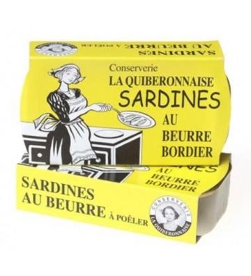 Sardines au beurre Bordier