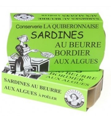 Sardines au beurre aux algues