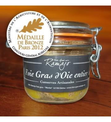 Foie gras de d'oie entier 180g