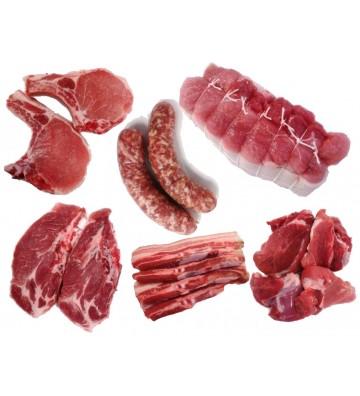 Caissette de porc 5 Kg
