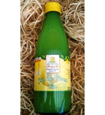 Jus de Citron Bio 25cl