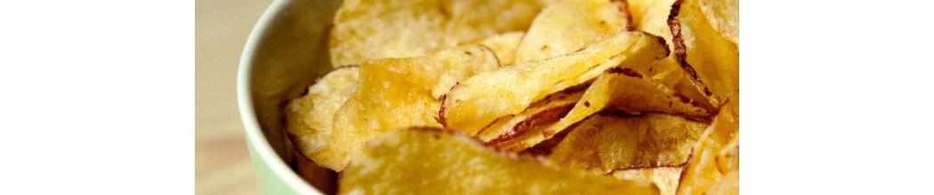 Biscuits apéritif et chips