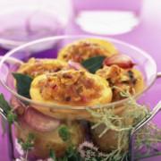 Pommes de terre rôties aux amandes