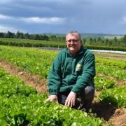 Didier Vecten, gérant de la Cueillette de Muizon