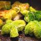 Paquets de chou au Cantal