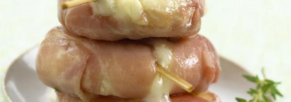 Recette de Rocamadour au jambon de Parme