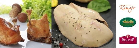 bandeau foie gras avec marques