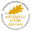 Médaille d'or du Concours Général Agricole 2016