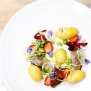Salade de pommes de terre de Noirmoutier : Maquereau et yaourt mentholé