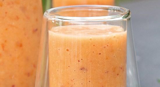 Milkshake peche abricot bandeau