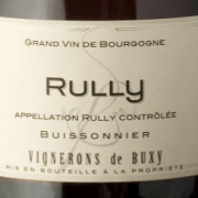 Étiquette Rully rouge Buisonnier