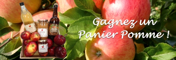 Bandeau Panier Pomme à la Une
