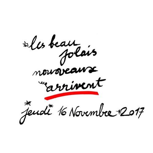 Affiche Les Beaujolais nouveaux 2017 arrivent