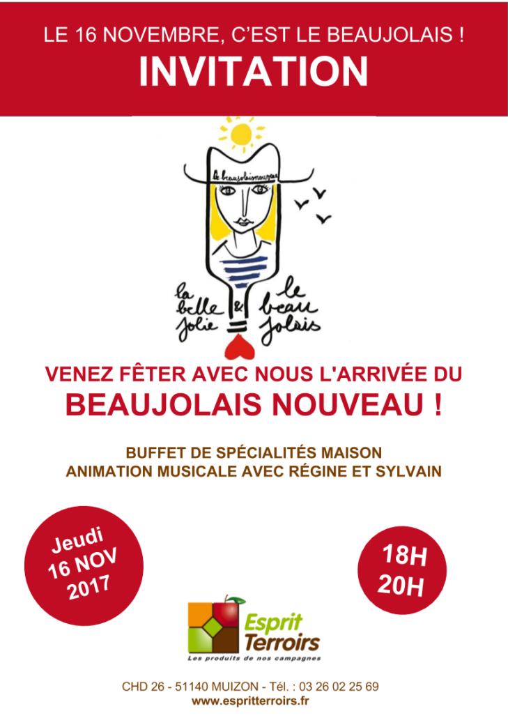 Invitation Beaujolais 2017