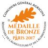 Médaille de Bronze Paris 2017