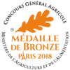 Médaille de Bronze Paris 2018