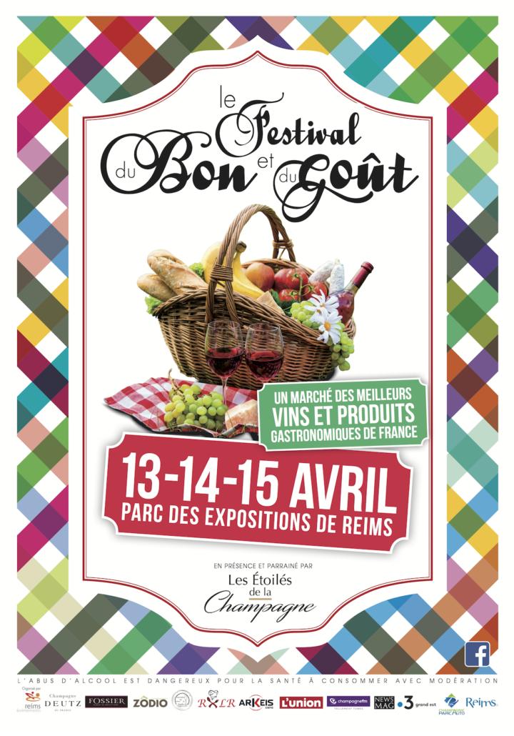 Affiche Festival du Bon et du Goût 2018