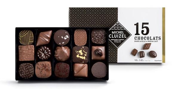 Coffret Chocolats Cluizel N°15