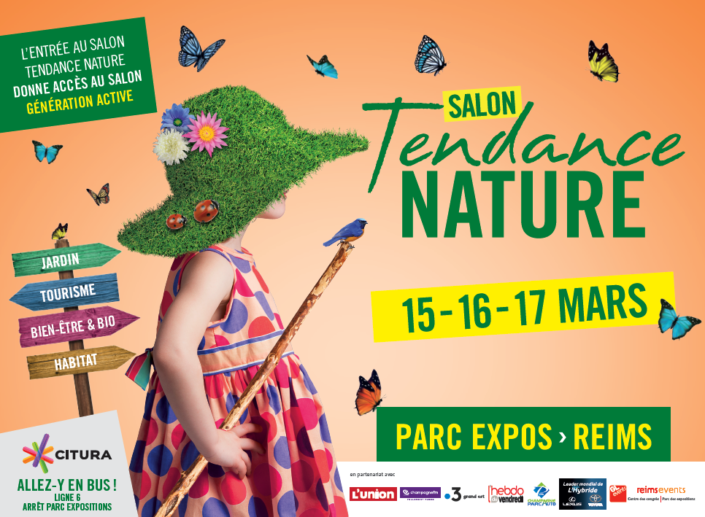 Bandeau Salon Tendance Nature 2019 à Reims