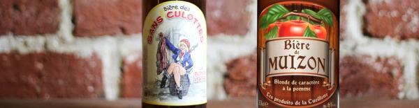 Bières de Muizon et Sans culotte