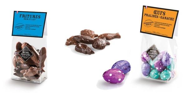 Fritures et Oeufs Chocolats Cluizel à Reims