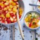 Tartare de fruits frais au yaourt