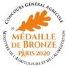 Médaille de bronze 2020