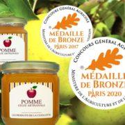 Médaille 2020 Gelée de pomme