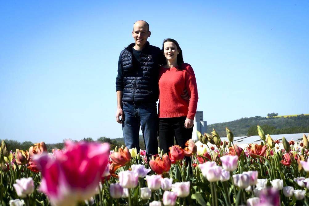Emilie et Thibault DEVILLE, Gérants d'Esprit Terroirs - La Cueillette de Muizon