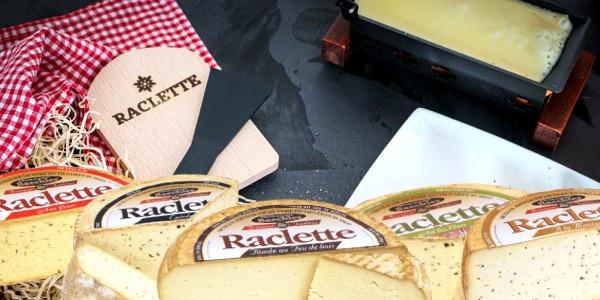 Raclettes aromatisées bandeau