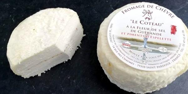 Le Coteau à la fleur de sel de Guérande et piment d'Espelette