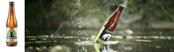 Bières de la Brasserie Les 3 Loups