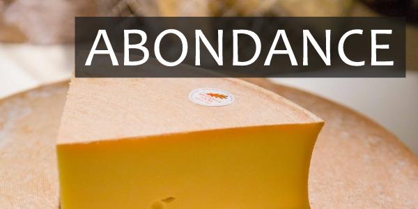 Fromage Abondance