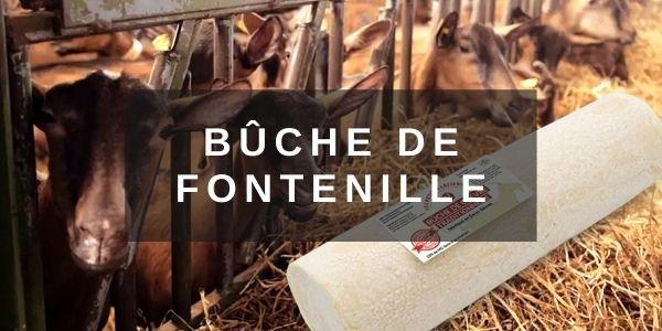 Bûche de Fontenille au lait de chèvre