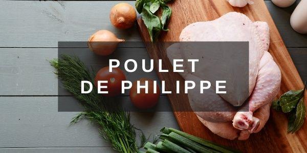 Bandeau Poulet de la Ferme de Philippe