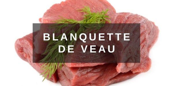 Veau pour Blanquette élaboré par nos bouchers à Reims