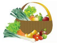 Panier de fruits et légumes à Reims